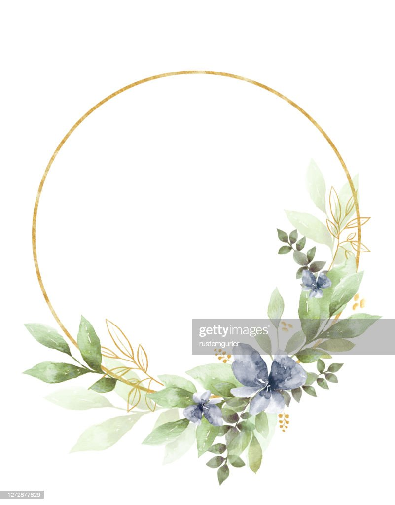https www gettyimages com detail illustration watercolor floral clipart wedding invitation royalty free illustration 1272877829