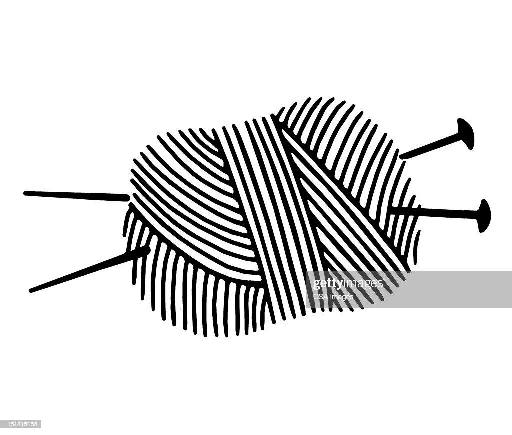 319 pelote de laine illustrations getty images