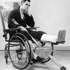 Wheelchair Man Power Recliner Chair 1940s In Stock Photo Getty Images