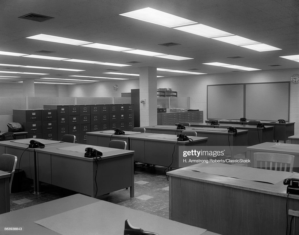 1950s 1960s Office With Stock Photo  Getty Images