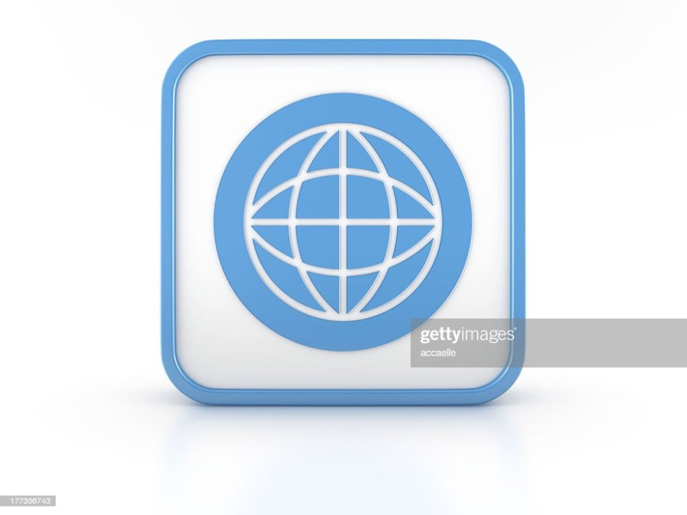 medium resolution of 3d shape world simbol icon stock photo