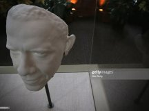3-D Portrait Of President Obama On Display At The ...
