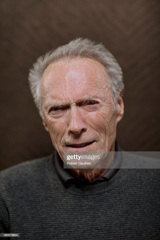 Actor And Director Clint Eastwood Is Photographed For Los