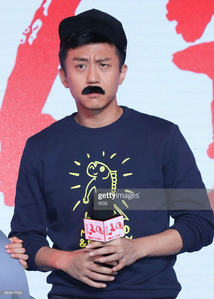 Actor Deng Chao attends press conference of director Stephen Chow's... News Photo - Getty Images