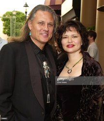 Actor Michael Horse And Wife Saundra Arrive