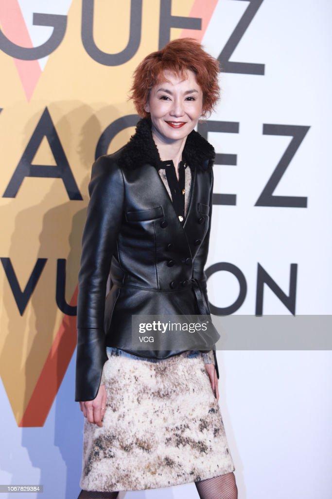 Actress Maggie Cheung Man-yuk attends Louis Vuitton Volez Voguez... News Photo   Getty Images