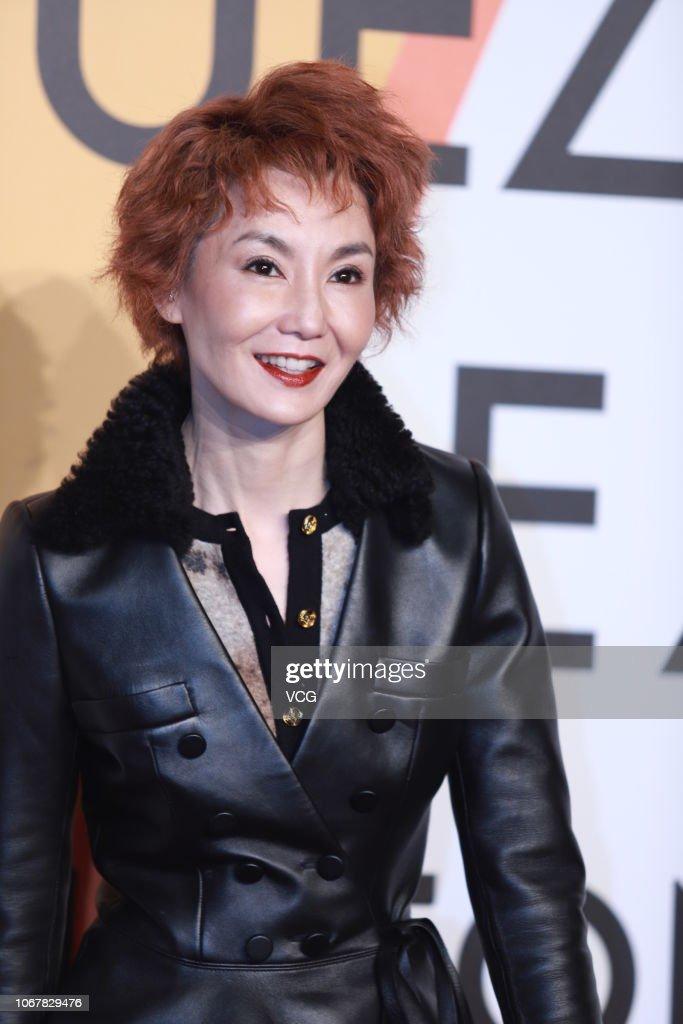 Actress Maggie Cheung Man-yuk attends Louis Vuitton Volez Voguez... News Photo - Getty Images