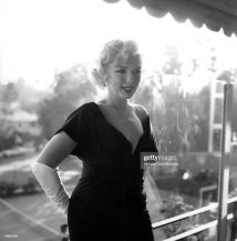 Actress Marilyn Monroe Attends Party Held In Honor