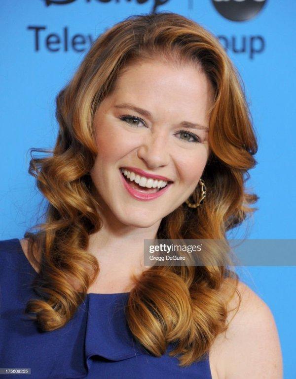 Actress Sarah Drew