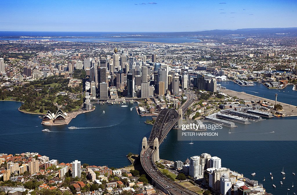 Aerial Of Sydney New South Wales Australia Stock Photo  Getty Images