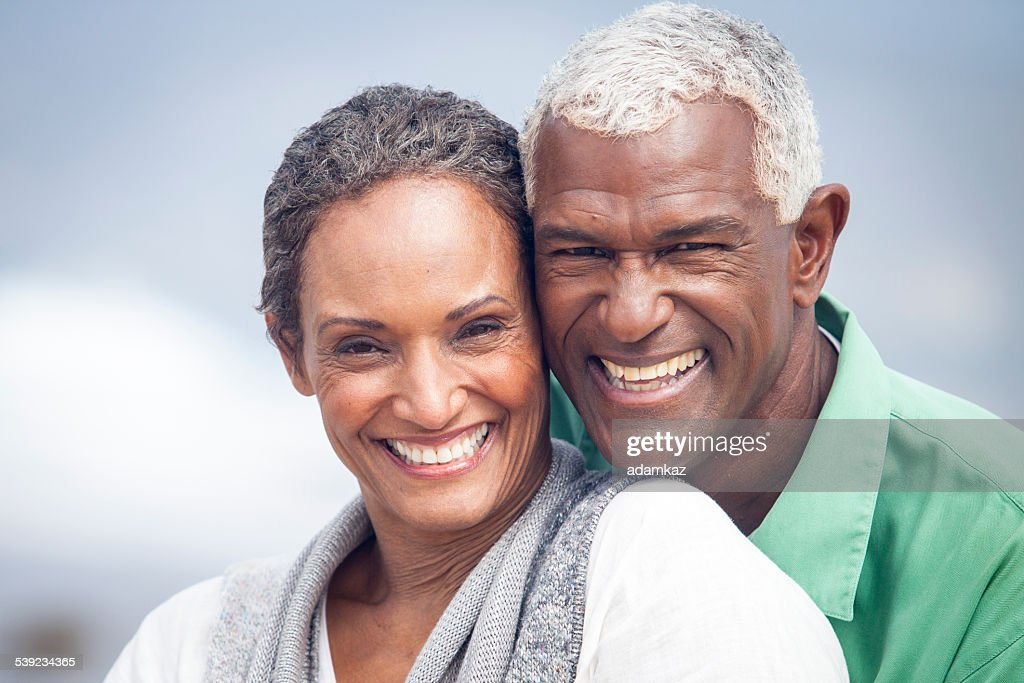 African American Senior Citizens Eating