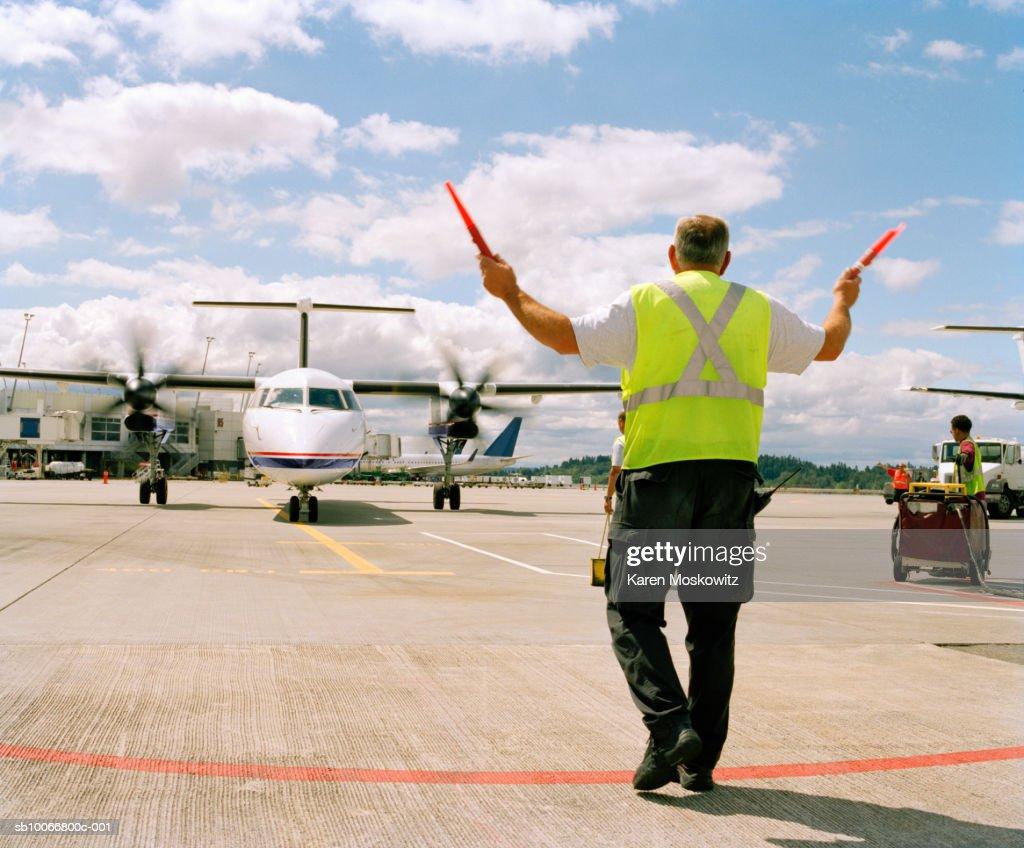 Runway Directing Airport Traffic