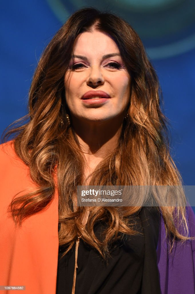 Alba Parietti Stock Photos And Pictures Getty Images