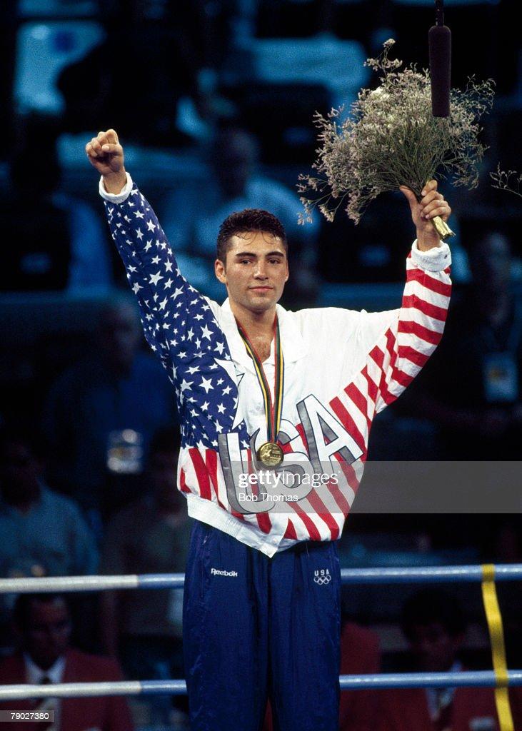 Oscar De La Hoya Olympic Gold Medal
