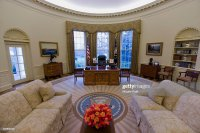 USA - Politics - The Oval Office of the White House ...