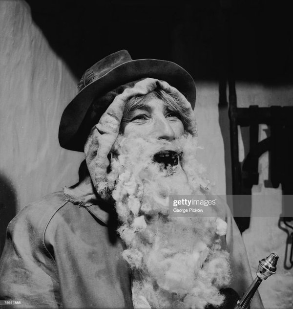 Irish Santa Claus 'daddy Christmas' Circa 1955