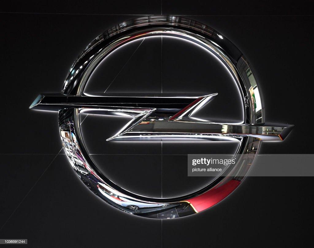 hight resolution of paris motor show an opel logo