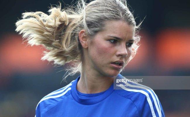 Andrine Hegerberg Of Birmingham City Lfc During Women S