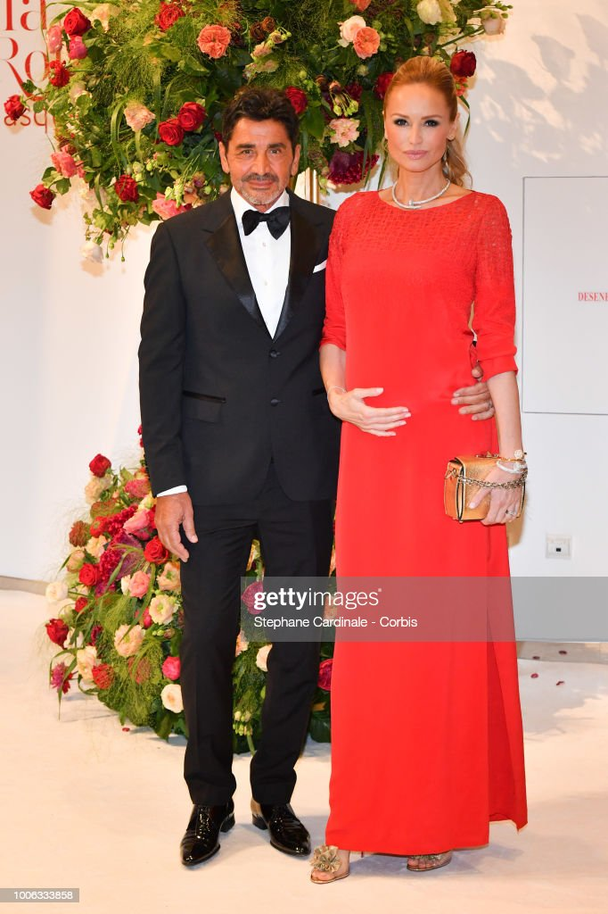 Aram Ohanian and Adriana Karembeu attend the 70th Monaco Red Cross