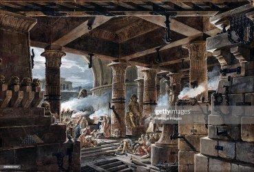 interior temple egyptian fantasy architectural 1803 getty found hermitage francois 1813 petersburg 1754 heritage jean thomas fine artist st