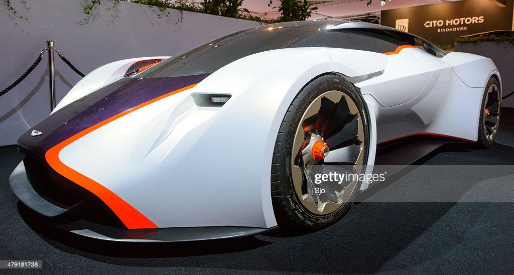 Aston Martin Dp100 Vision Gran Turismo Concept Car Stock Photo