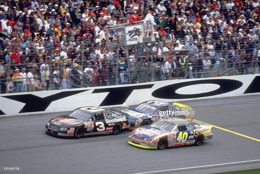 Sterling Marlin Dale Earnhardt Stock Photos And Pictures