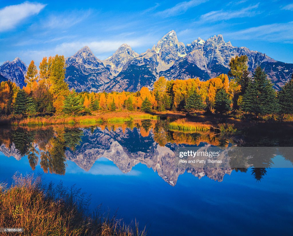 Simple Wallpapers Colors Fall Autumn In The Snake River Valley Grand Teton National Park