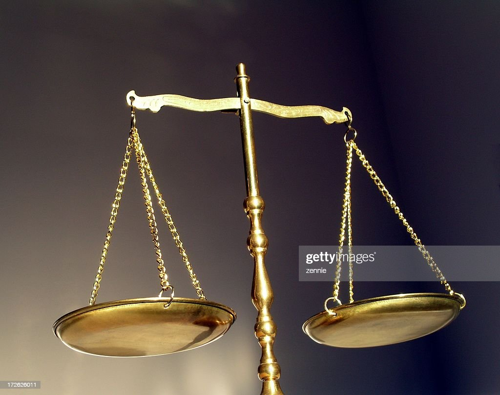 Balance Justice Libra Scales Stock Photo  Getty Images