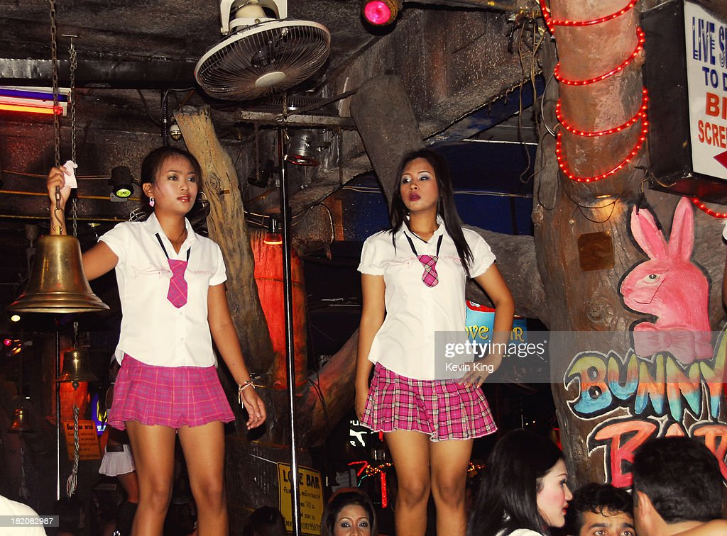Phuket Thailand School Girl Bar Fun Pictures  Getty Images