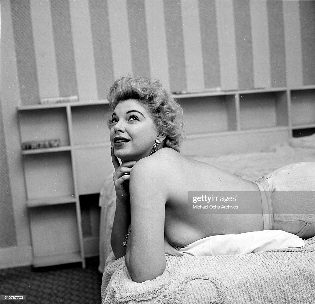 Barbara Nichols poses for a portrait at home in Los