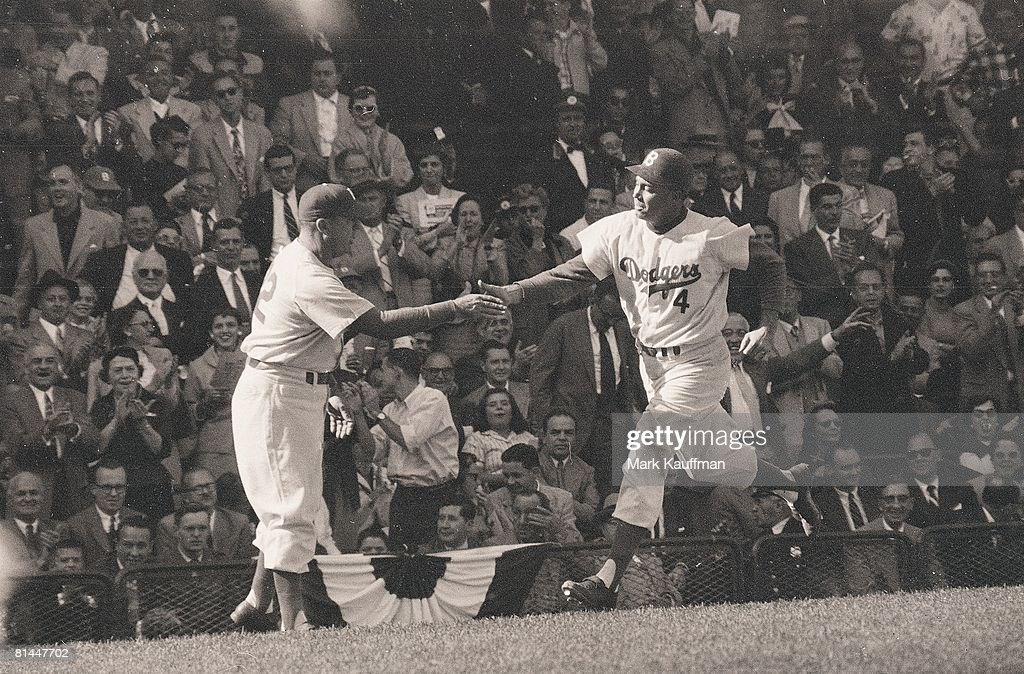 Brooklyn Dodgers Duke Snider 1955 World Series Pictures