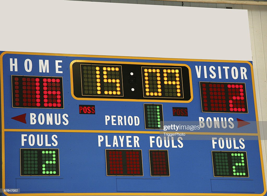 Scoreboard Stock Photos And Pictures  Getty Images