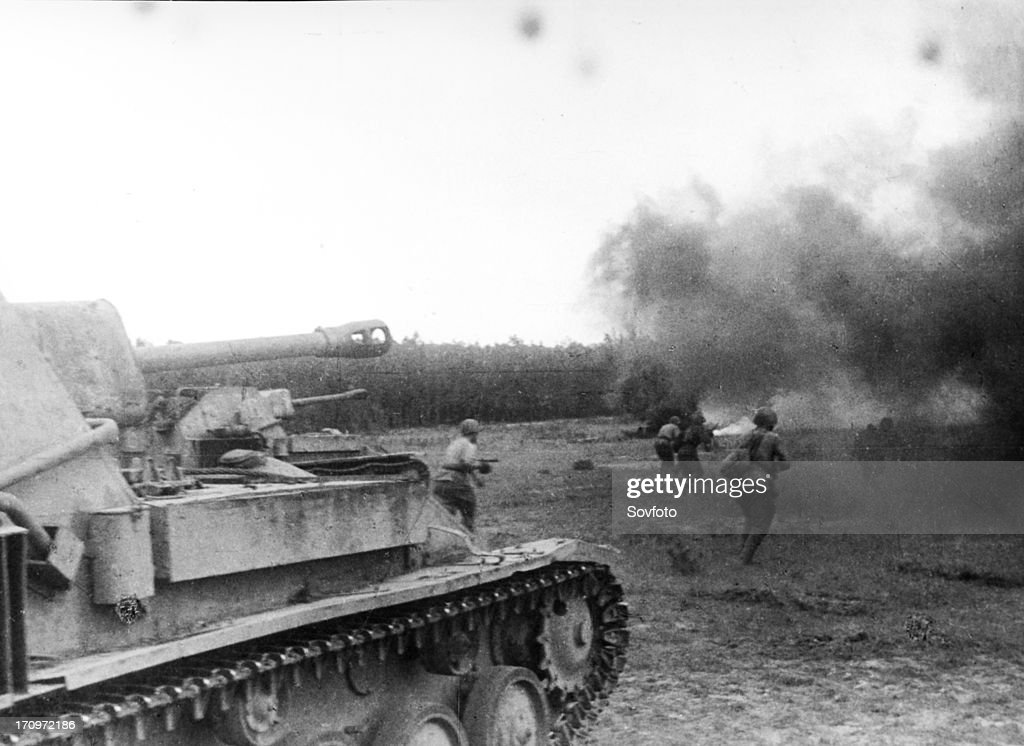 Battle of kursk bulge. in july. 1943. News Photo - Getty Images