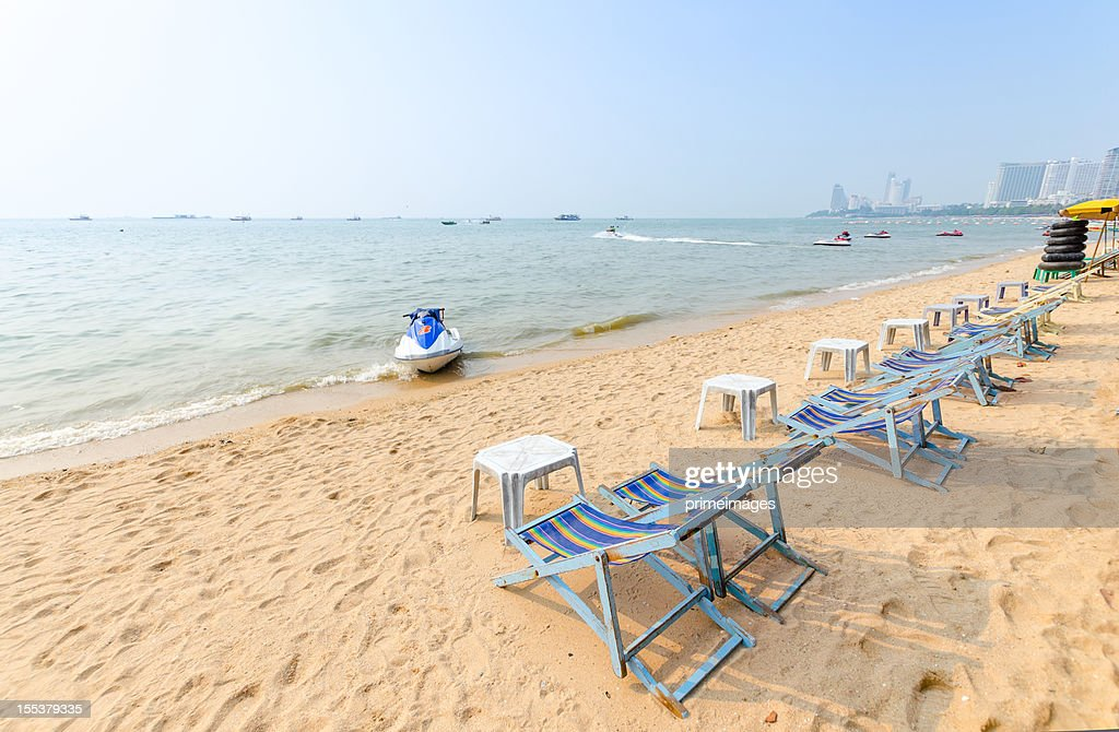 perfect beach chairs martha washington chair on tropical white sand stock photo