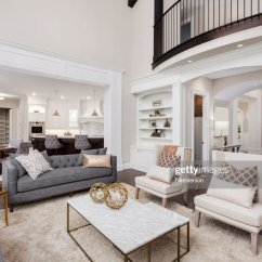 Flooring Living Room Kitchen Cheap Large Rugs For Beautiful Interior With Tall Vaulted Ceiling Loft Area Hardwood Floors And Fireplace In New Luxury Home Has View Of Dining