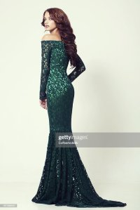 Beautiful Woman In Cocktail Dress Stock Photo | Getty Images