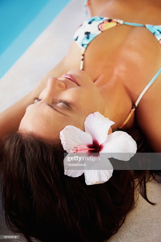 Sleeping Women Bikini Stock Photos and Pictures  Getty Images