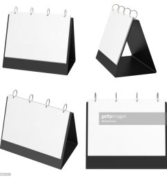blank table top flip chart easel binder stock photo [ 1002 x 1024 Pixel ]