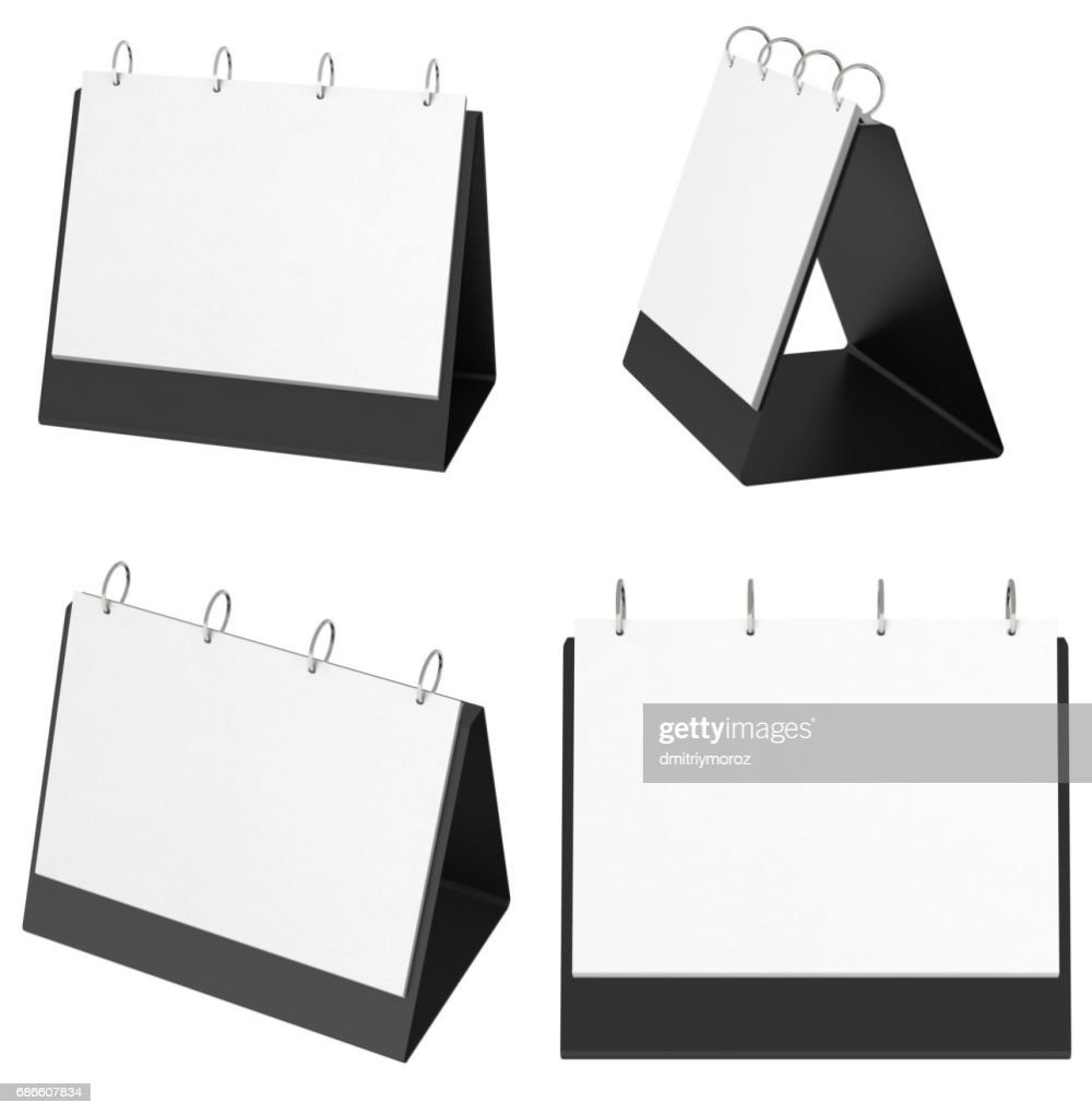 medium resolution of blank table top flip chart easel binder stock photo
