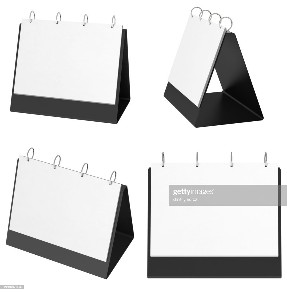 hight resolution of blank table top flip chart easel binder stock photo