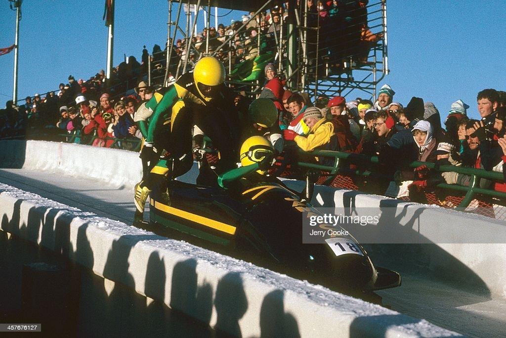 1988 Winter Olympics Bobsleigh