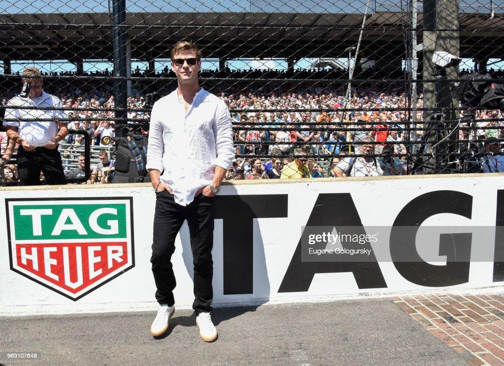 Brand Ambassador. Chris Hemsworth attends the TAG Heuer Celebration... News Photo - Getty Images