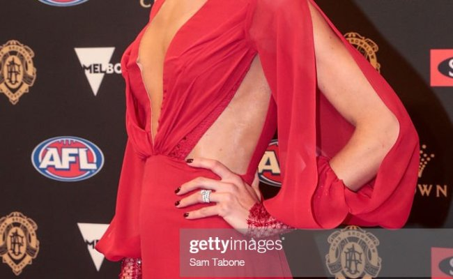 Brooke Cotchin Attends 2018 Brownlow Medal At Crown