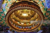 Caisson Ceiling Of Ancient Templebeijingchina Stock Photo ...