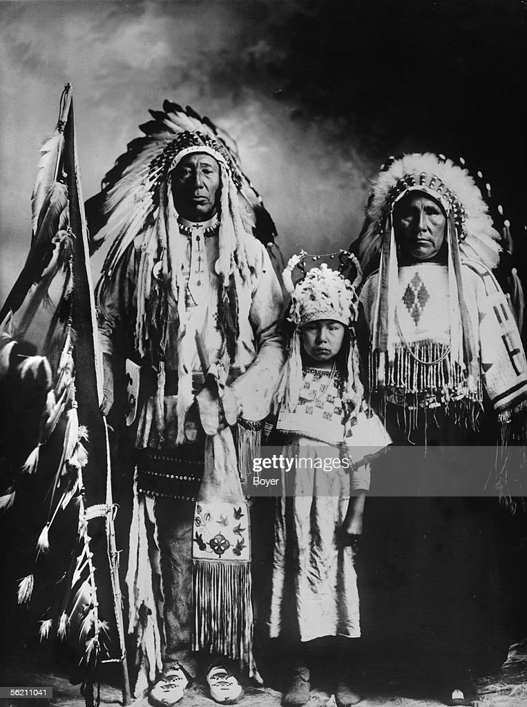 Canada White head Iroquois chief of the tribe of the black News Photo  Getty Images