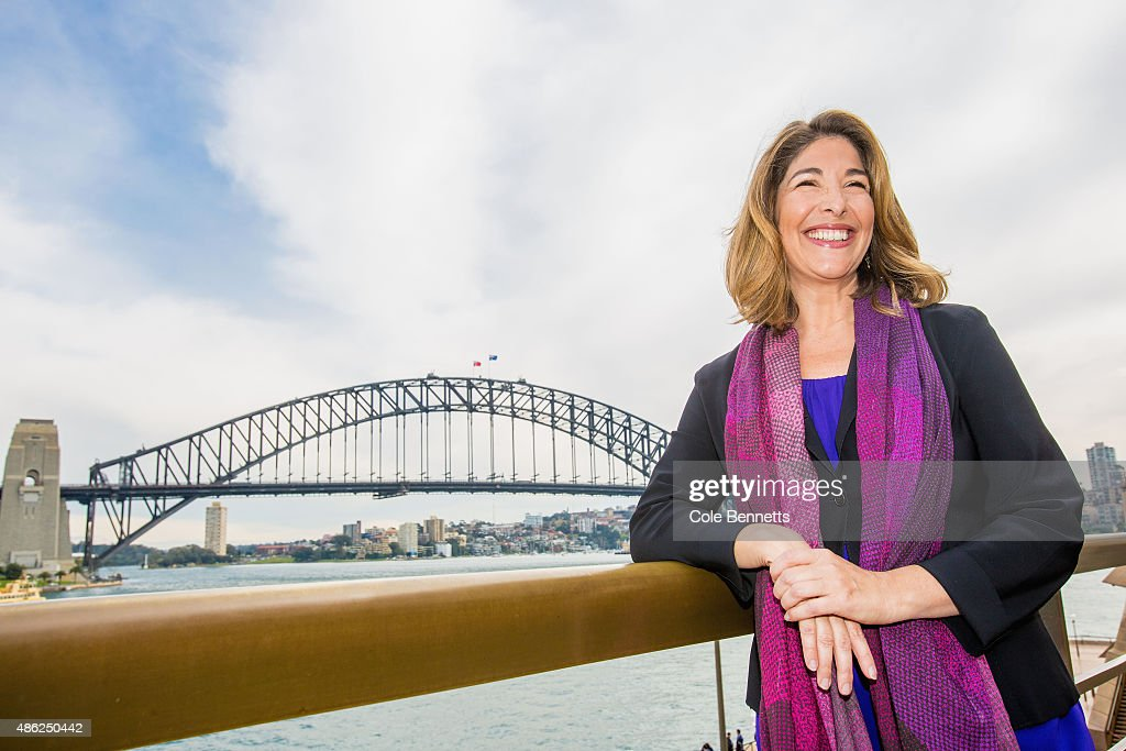 Naomi Klein Press Conference Ahead Of The Festival Of Dangerous
