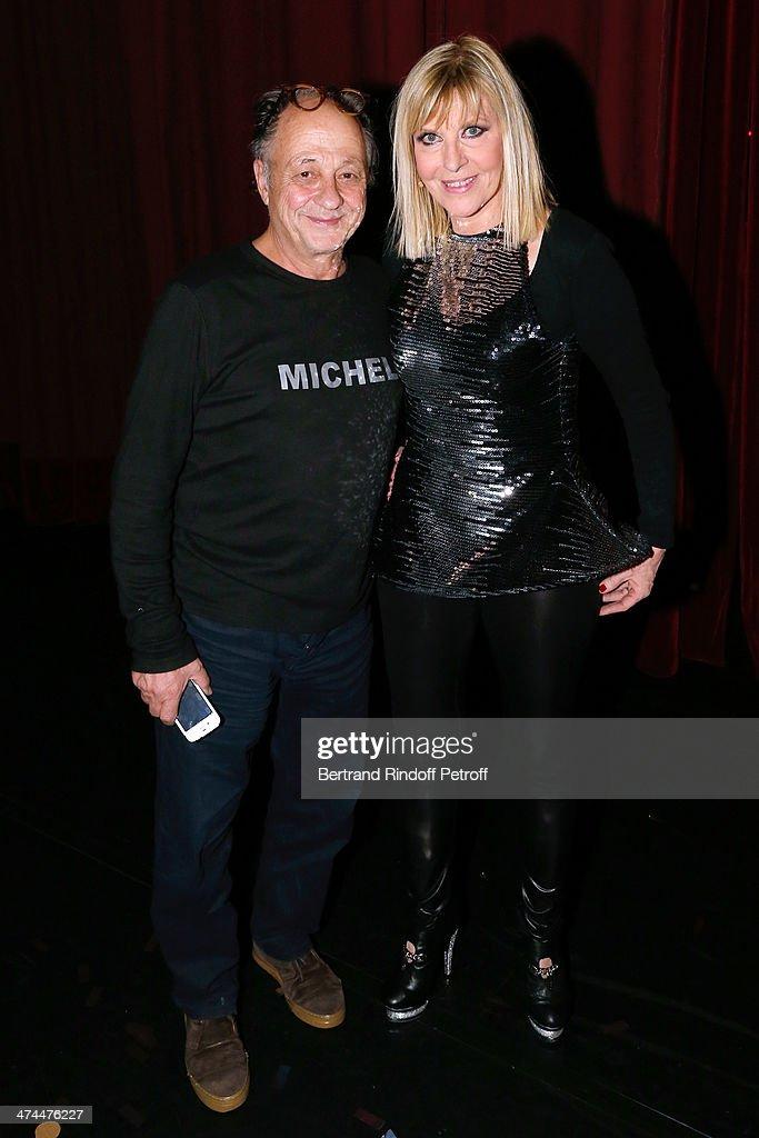 J Ai L Impression Que : impression, Chantal, Ladesou, Husband, Michel, Backstage, After, She..., Photo, Getty, Images