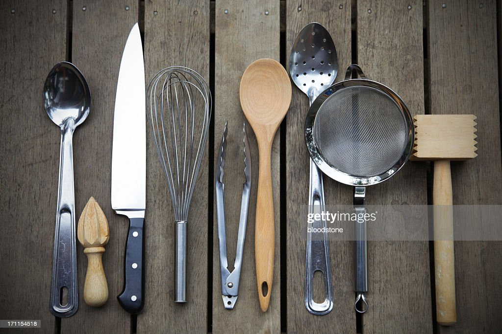 kitchen tools vintage stoves utensil stock photos and pictures chefs