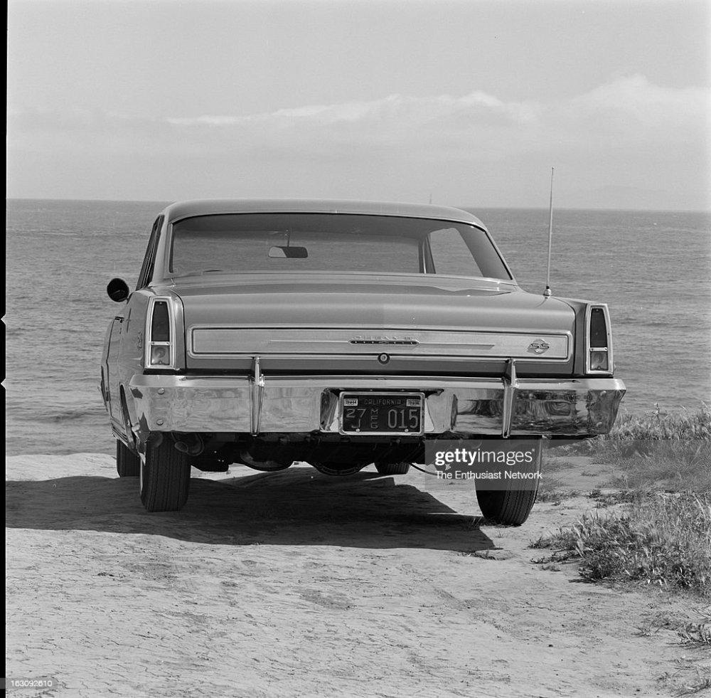 medium resolution of 1966 chevy ii nova super sport with a 327 v8 news photo