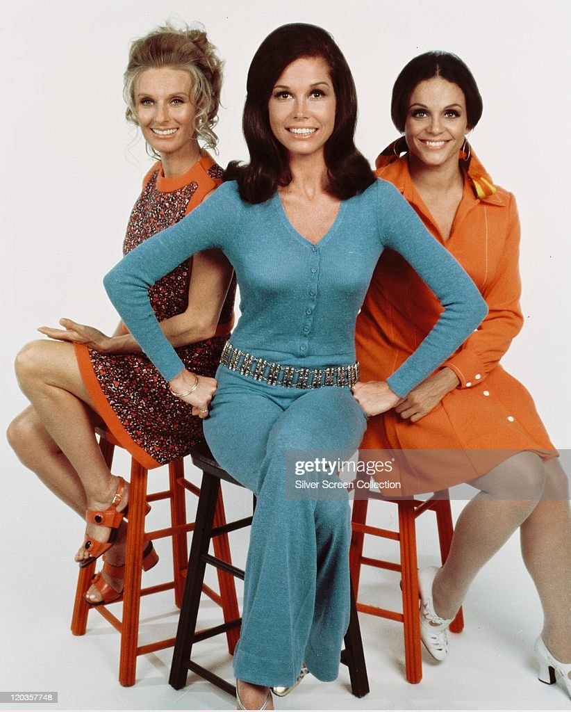 Fashions in a publicity portrait issued for the us television